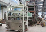 Semi Automatic Pulp Tray Machine , Eco Paper Moulding Pulp Egg Tray Forming Machine