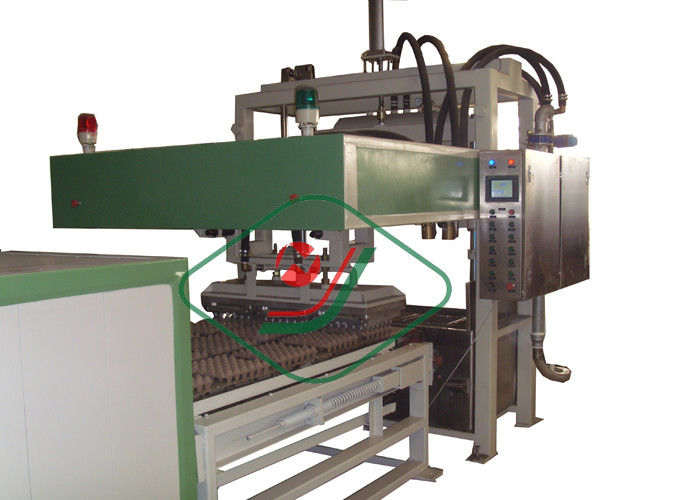 Flexible Small Paper Egg Carton Machine Egg Tray Pulp Molding Equipment