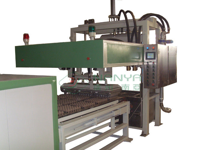 Full Auto Reciprocating Waste Paper Egg Tray Making Machine Vacuum Suction Forming