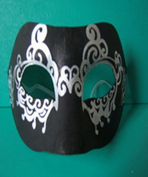 Environmently- friendly Hallowmas Mask Pulp Moulded Products Support DIY Painting