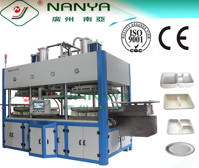 High Grade Dishware Tableware Pulp Molding Equipment , Fully Automatic